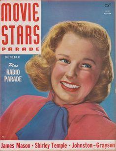 June Allyson on the October 1947 Movie Stars Parade
