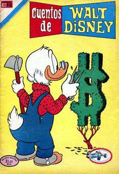 Cover For Cuentos De Walt Disney Editorial Novaro 1949 Series 533