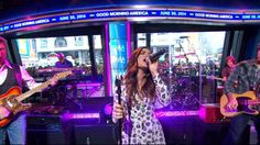 """Lucy Hale performs """"Lie a Little Better"""" on GMA #PLL #PrettyLittleLiars"""
