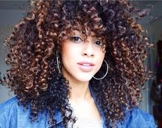 Curly Hair Mixed Girls