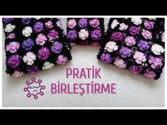 Motifli(Çiçekli) Yelek Yapımı İp Koparmadan Pratik Birleştirme EN/RU Subtitles ON - YouTube Piercings, Lace Vest, Moda Emo, Needle Lace, Crochet Flowers, Crochet Projects, Diy And Crafts, Etsy, Make It Yourself