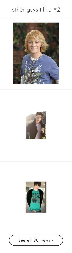 """other guys i like #2"" by sarah-hill-622 ❤ liked on Polyvore featuring models, guys, shane harper, people, nathan kress, pictures, icarly, boys, cast and drew roy"