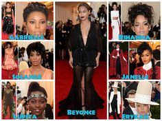 Hair And Highlights From the 2014 Annual Met Gala  Read the article here - http://www.blackhairinformation.com/general-articles/celebrities/hair-highlights-2014-annual-met-gala/