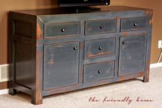Ana White | Build a Dawsen Media Console | Free and Easy DIY Project and Furniture Plans
