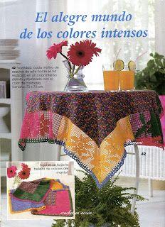Crochet En Acción: punto de red/filet crochet