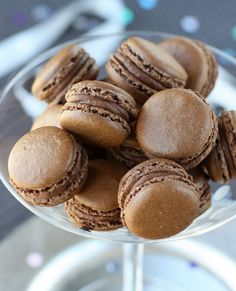 Recipe: Double Chocolate Macarons