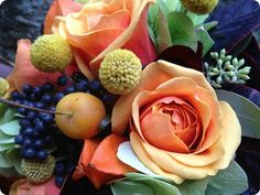 A Year In Bloom - A Bouquet For October »
