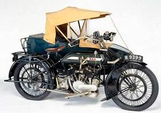 BSA Motorcycle with sidecar