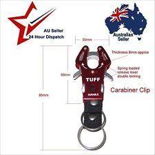 #CARABINER KEYRING CLIP DOUBLE LOCKING: Keys Hiking Back Pack Belt Loop Paracord #outdoors, #campinggear, #fishinggear, #ClimbingGear