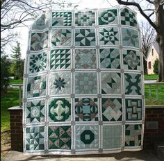 Sampler quilts   Sampler quilts can be as simple or as complicated as you'd like them ...