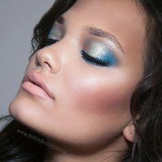 Aura, Golden Aquamarine, Petroleum Blue