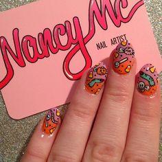 Halloween by nancy_mc  #nail #nails #nailart