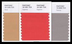 2 Good Claymates: Pantone Spring 2014 Fashion Color Cayenne