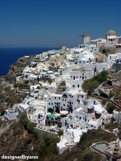 Oia, Santorini I've always wanted to go to Greece.
