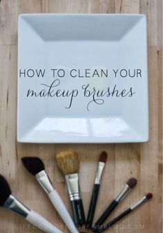 #HowTo Clean Your #Makeup Brushes