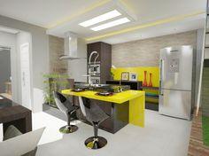 cor na cozinha