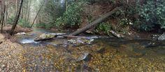 Fightingtown creek beckons,  come down to Creeksong!  #blueridgega #Fightingtown #cashesvalley #Creeksong