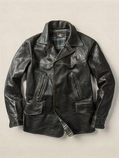 14fd168b7ea Henderson Coat - RRL Leather   Suede - RalphLauren.com