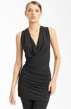 Donna Karan Collection Ruched Jersey Tunic available at Nordstrom