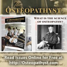 "From Issue 1 of the Osteopathyst. Read for free at Osteopathyst.com ""A. T. Still was a West Virginian man that was formerly an allopathic physician. He was in the State of Kansas when he acknowledged the inadequacy of the medical practices at the time. Still came up with the notion that a higher power has designed the perfect structure that is capable of living out its days without the use of drugs if the structure is kept in good repair. This is the foundation of mechanophysiology and…"