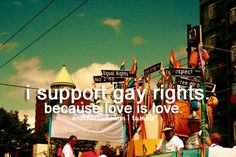 even though im not gay i support them<<< I support them and i am catholic