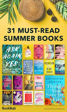 31 books you need to read this summer! Books You Should Read, Best Books To Read, I Love Books, Good Books, Big Books, Summer Books, Summer Reading Lists, Beach Reading, Book Club Reads