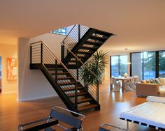 Open Riser Stair Design, Pictures, Remodel, Decor and Ideas - page 13
