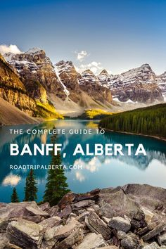 Everything you need to know about Banff, Alberta including where to eat, the best hotels, and the top things to do in the mountain town. Banff National Park, National Parks, Banff Centre, Lake Louise Banff, Sunshine Village, Fairmont Banff Springs, Banff Canada, Parks Canada, Atlantic Canada