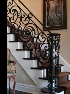 Staircase, French Iron Design