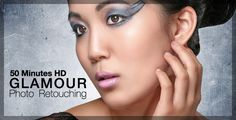 50 minutes Glamour Portrait Photo Retouching