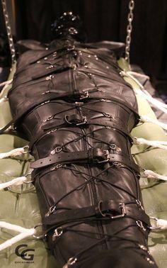 bag bondage body tumblr
