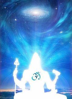 Shiva is Omkara. Krishna, Shiva Hindu, Shiva Art, Shiva Shakti, Hindu Deities, Hindu Art, Chakras, Shiva Meditation, Namaste