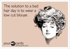Solution to a bad hair day.