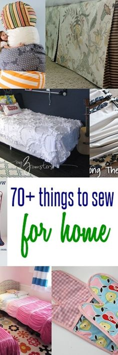 things to sew for home | free sewing patterns | sewing for beginners
