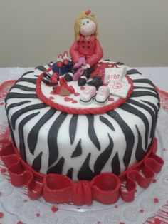 zebrinha cake