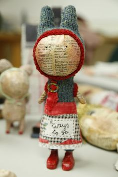 Paper Mache from the land of tea and biscuits.....Julie Arkell.