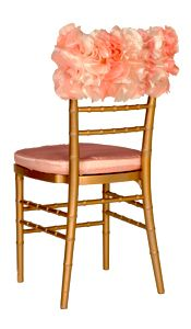 flower chair cover- wonder if I could swing this with my taller, narrower kitchen chairs...