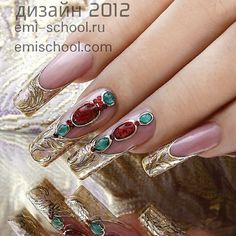 Espectacular Nails emiroshnichenko's photo on Instagram