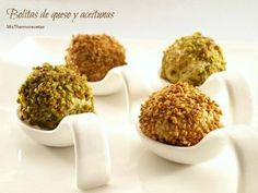 Bolitas de queso y aceitunas | MisThermorecetas | Bloglovin'