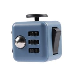 An unusually addicting, high-quality desk toy designed to help you focus. Fidget at work, in class, and at home in style. Fidget Cube has six sides. Each side f