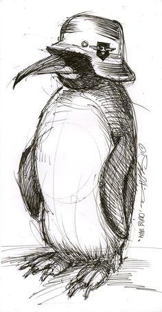 """Art from Cleveland. Win. (""""War Bird,"""" by Derek Hess)"""