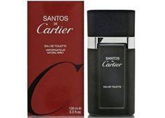Cartier Santos is een scherpe, kruidige lavender / amber-achtige geur. Deze mannelijke geur bevat een mix van hout-achtige extracten en kruiden, extreem mannelijk dus. Het is een geur die tevens te dragen is voor op kantoor, en gedurende de hele dag. -