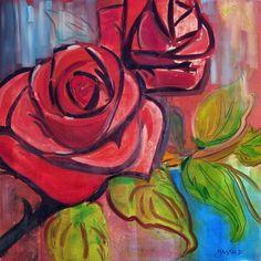 Maison d'enchères en ligne Catawiki: Christophe Gastaldi -Les roses