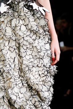 Alexander McQueen SS15 has reinvented everything we thought we knew about texture. Just wow.