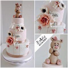 Bear Cake http://www.bellasbakery.it/cake-design/