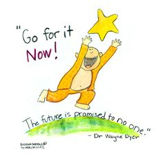 Buddha Doodle - 'Go for it NOW!'by Mollycules♥ Please Share ♥
