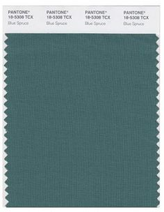 color blue spruce Pantone | Pantone Blue Spruce | Color: Turquoise Teal Aqua | Pinterest