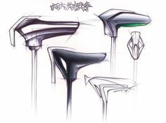 Product Design Sketch by Zion Hsieh, via Behance