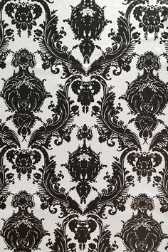 """Damsel Wallpaper - Metallic -- """"Anyone living in an apartment where you can't paint or if you just don't feel like painting- this IS the solution!"""""""