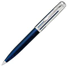 【ペリカン】 スーベレーン K625 シルバー/ブルー(ボールペン)